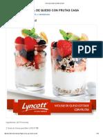 Crema Para Batir Lyncott _ Lyncott