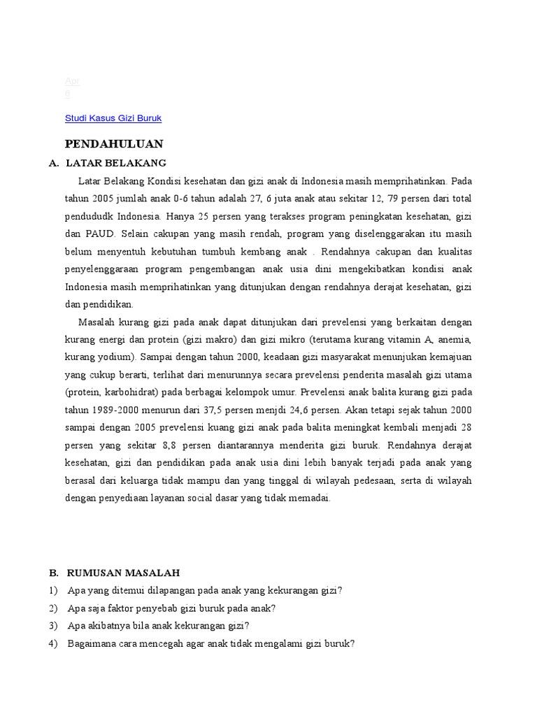 Studi kasus gizi buruk 1534209578v1 ccuart Image collections