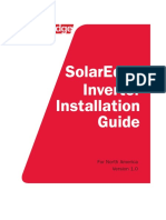 SolarEdge Single and Three Phase Inverter User Manual