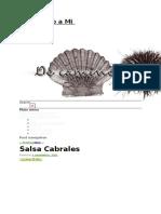 Salsa Cabrales