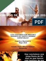 Domingo de Pentecostés 2016