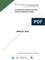 Perfil Tipo Parados Abril 2010 Concellos
