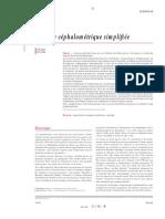Analyse Céphalométrique Simplifiée