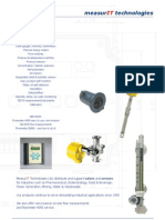 MeasurIT Flexim F601 General Brochure 1004