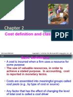 Chap002 Cost Classification