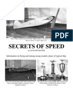 Speed - a Free-Flight Model Airplane