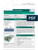 MeasurIT Flexim ADM6725 Application River Water PS 0809