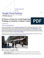29 Places of Interest Worth Exploring While Walking on Istanbul's Istiklal Caddesi – Part 1