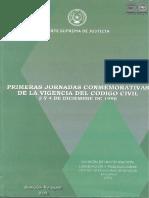 Primera Jornada Conmemorativa Codigo Civil - 3 y 4 de Diciembre de 1998 - PortalGuarani
