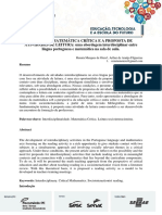 Educação Matemática Crítica e a Proposta de Atividades de Leitura