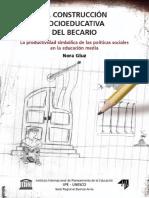 La Construcción Socioeducativa Del Becario, IIPE UNESCO, Buenos Aires,