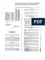 Normas Para Regular Procedimiento de Promocion y Solicitud de Referendos Revocatorios de Mandatos de Cargos de Eleccion Popular