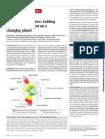 Steffen- Planetary Boundaries