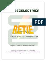 Retie 2013 Actualizado 31 Jul2014