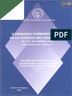 Segunda Jornada Conmemorativa Codigo Civil - 20 y 21 de Agosto 1999 - PortalGuarani