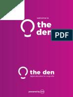 360i's Digital Education for Nonprofits (the den) Recap Report