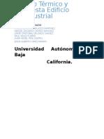 Cálculo Térmico y Propuesta en Laboratorio de Industrial (FINAL)
