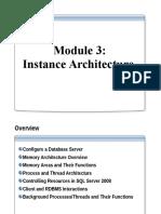 Module 3 Instance Architecture