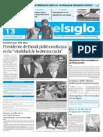 Edición Impresa El Siglo 13-05-2016