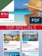 RIU-Streifenplakat