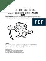 senior capstone course guide - google docs