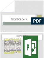Apuntes Project 2013