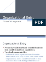 CH 7-Organizational Entry