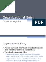CH 7-Organizational Entry