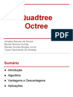 Quadtree vs Octree