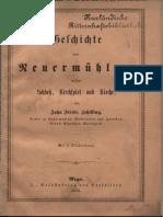 Geschichte Von Neuermühlen, Dessen Schloß, Kirchspiel Und Kirche, (1878)