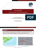 Math 55 Slides - Vector Fields (UVLe)