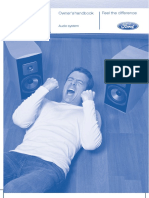 Ford Audio guide 2, 05-2008