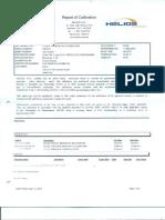certificados de calibracion