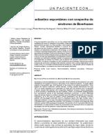 A. Neumomediastino y Sx de Boerhaave
