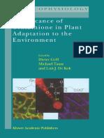 [M.J. Hawkesford, Peter Buchner] Molecular Analysis