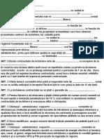 Contract de Inchiriere 1