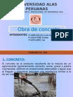 Obra de Concreto Diapositiva