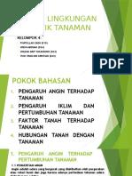 Faktor Lingkungan Abiotik Tanaman