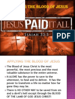 Blood of Jesus - Slideshow