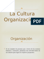 La Cultura Organizacional Power Point (1)