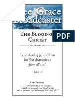 The Blood of Christ - Free Grace Broadcaster (Different Authors)