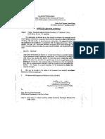 Govt. Servant to Do Job Within 7 Days DOPT Circular 08.09.2000.