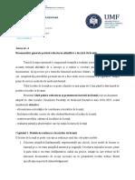 Anexa Nr 4 Recomandari de Redactare a Lucrarii de Licenta - Medicina Dentara