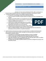 Informe Domiciliario Nro 1 - 2016