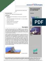 MeasurIT Flexim ADM7807 Project WVER 0809