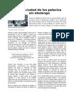 Reportaje - Palacios de Bogotá