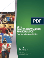 Irving ISD Final 2015 Report
