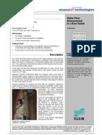 MeasurIT Flexim ADM7407 Project Sonoma 0910