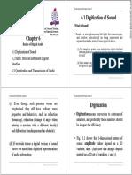 Chapter 6 - Basics of Digital Audio