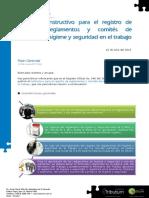 GTRIB Flash 042 Instructivo Registro de Reglamentos y Comités de Higiene y Seguridad Jul15